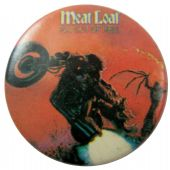 Meat Loaf - 'Bat Out of Hell' Button Badge